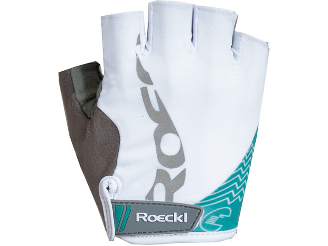 Roeckl Doria Handschuhe Damen weiß/türkis
